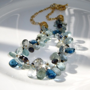 Made with gems from the Tucson Gem Show 2012
